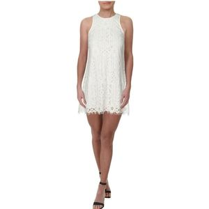 "NWT White Lace Sheath Dress ""Speechless """